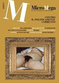 Micromega 6/2018 - copertina