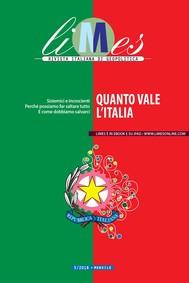 Limes - Quanto vale l'Italia - copertina