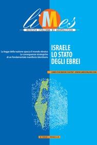 LImes - Israele, lo Stato degli ebrei - copertina