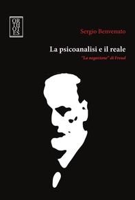 La psicoanalisi e il reale - Librerie.coop
