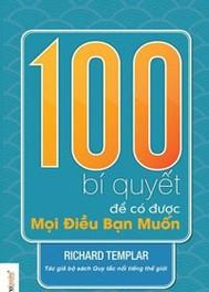 100 Bí Quyết Để Có Được Mọi Điều Bạn Muốn - copertina