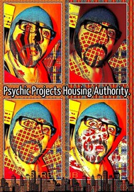 Crazy Joey Psychic Projects Housing Authority. - copertina