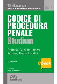 Codice di procedura penale studium - copertina