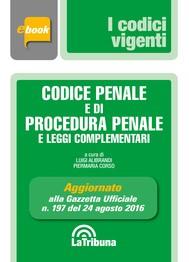 Codice penale e di procedura penale e leggi complementari - copertina