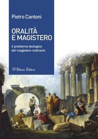 Oralità e Magistero - Librerie.coop