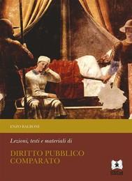 Lezioni, testi e materiali di Diritto Pubblico Comparato - copertina