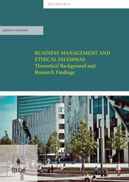 Business Management and ethical dilemmas - Theoretical Background and research - copertina