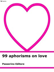 99 aphorisms on love - copertina