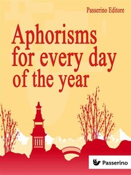 Aphorisms for Every Day of the Year - copertina