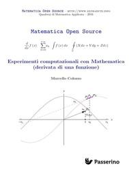 Esperimenti computazionali con Mathematica (derivata di una funzione) - copertina