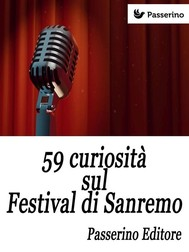 59 curiosità sul Festival di Sanremo - copertina