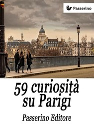 59 curiosità su Parigi - copertina