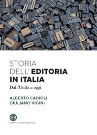 Storia dell'editoria in Italia - Librerie.coop