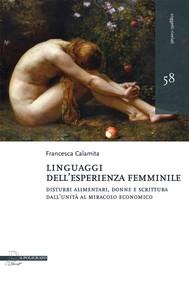 Linguaggi dell'esperienza femminile - copertina