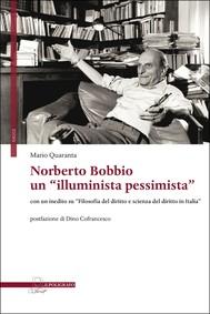 """Norberto Bobbio un """"illuminista pessimista"""" - copertina"""