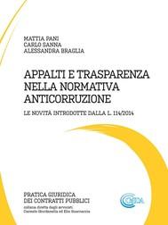 Appalti e trasparenza nella normativa anticorruzione - copertina