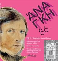 Ananke 86 - Aprile 2019 - copertina