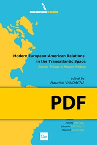 Modern European-American Relations in the Transatlantic Space. Recent Trends in History Writing - Librerie.coop