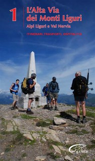 Alta Via dei Monti Liguri - vol. 1 - Alpi Liguri e val Nervia - copertina