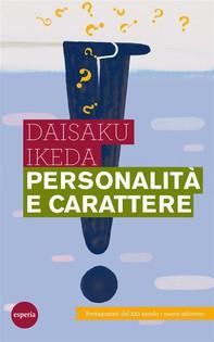 Personalità e carattere - Librerie.coop