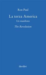 La terza America. Un manifesto - copertina