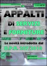 Appalti di servizi e forniture - copertina