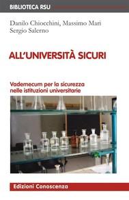 All'Università sicuri - copertina