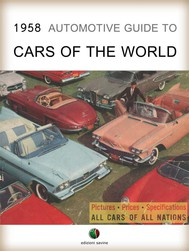 1958 Automotive Guide to Cars of the World - copertina