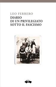Diario di un privilegiato sotto il fascismo - copertina