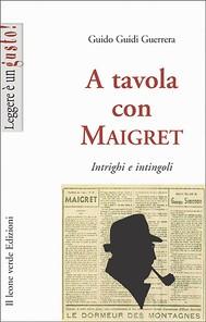 A tavola con Maigret - copertina