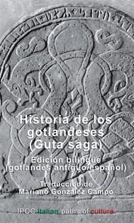 Historia de los gotlandeses (Guta saga) - copertina