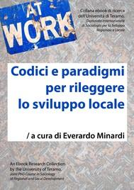 Codici e paradigmi per rileggere lo sviluppo locale - copertina