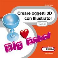Creare oggetti 3D con Illustrator  - copertina