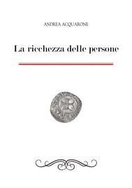 La ricchezza delle persone - copertina