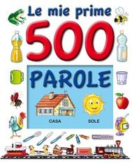 500 PAROLE, le mie prime - copertina