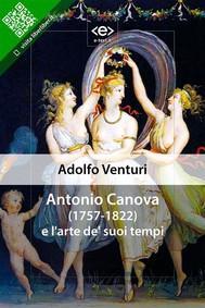 Antonio Canova e l'arte de' suoi tempi - copertina