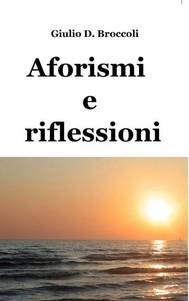 Aforismi e riflessioni - copertina