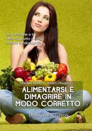 Alimentarsi e dimagrire in modo corretto - copertina