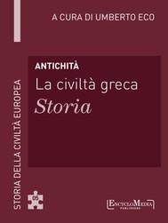 Antichità - La civiltà greca - Storia - copertina