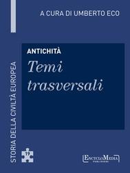 Antichità - Temi trasversali - copertina