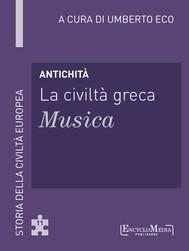 Antichità - La civiltà greca - Musica - copertina