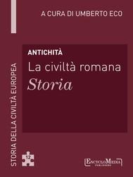 Antichità - La civiltà romana - Storia - copertina