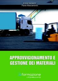 Approvvigionamento e gestione dei materiali - copertina