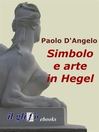 Simbolo e arte in Hegel - Librerie.coop