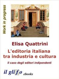 L'editoria italiana tra industria e cultura - Librerie.coop