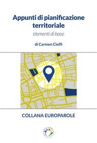 Appunti di pianificazione territoriale  - copertina