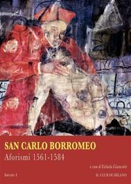 Aforismi 1561-1584 - copertina