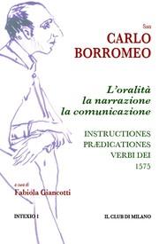 L'oralità, la narrazione, la comunicazione. Instructiones prædicationes, 1575 - copertina