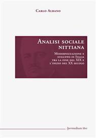 Analisi sociale nittiana - copertina