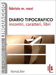 Diario tipografico - copertina